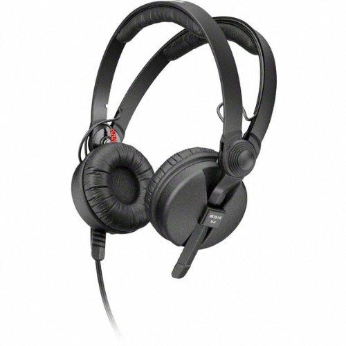 Sennheiser HD 25-1-II Basic Edition - Auriculares de diadema abiertos, color negro