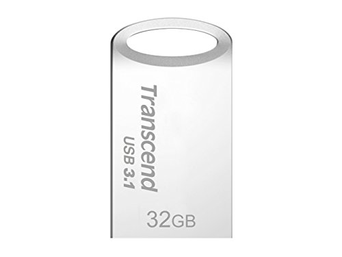 Transcend JetFlash 710 - Memoria USB 3.0 de 32 GB (resistente al agua, Flash MLC), color plata