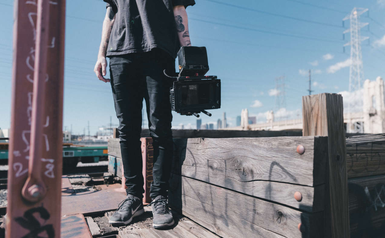 grabar videos youtuber