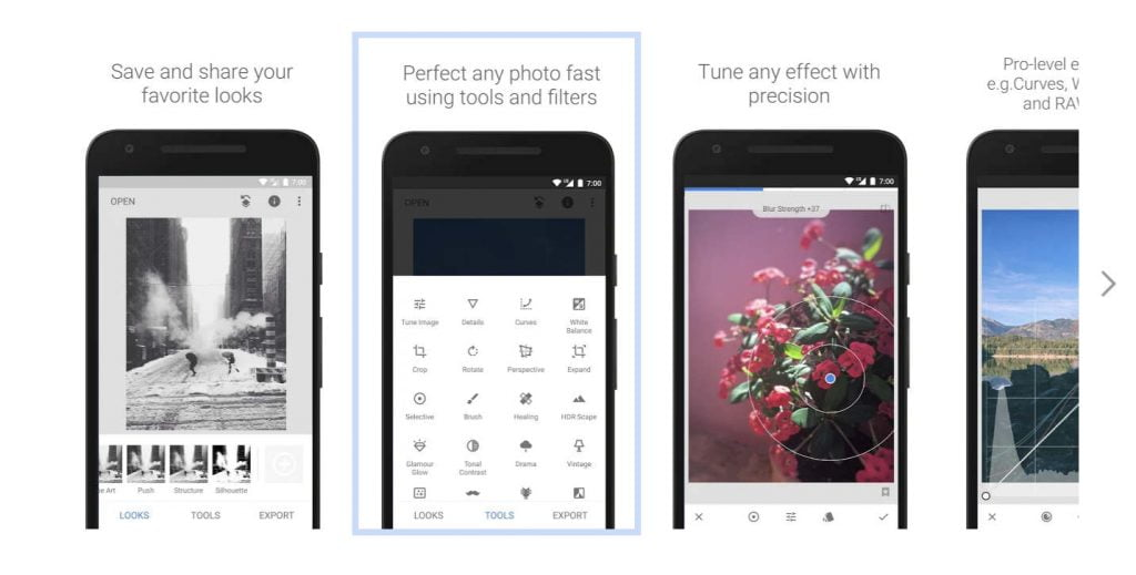 app editar fotos google