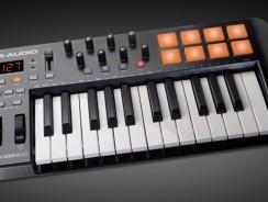 M-Audio Oxygen 25 posiblemente el mejor teclado MIDI (menos 100€)