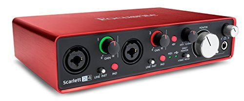 Focusrite, Scarlett 2i4 2 nd Gen, 2 de 4 OUT interfaz audio USB