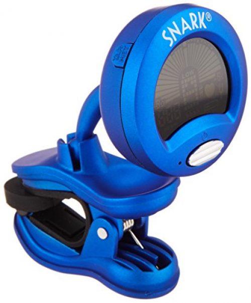 Snark SN1 - Afinador crómatico de pinza para guitarra, ukelele, color azul
